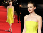 Carey Mulligan In Christian Dior - 'Inside Llewyn Davis' London Film Festival Premiere