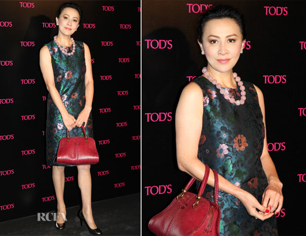 Carina Lau In Erdem -  David LaChapelle Photography Exhibition Dinner Party