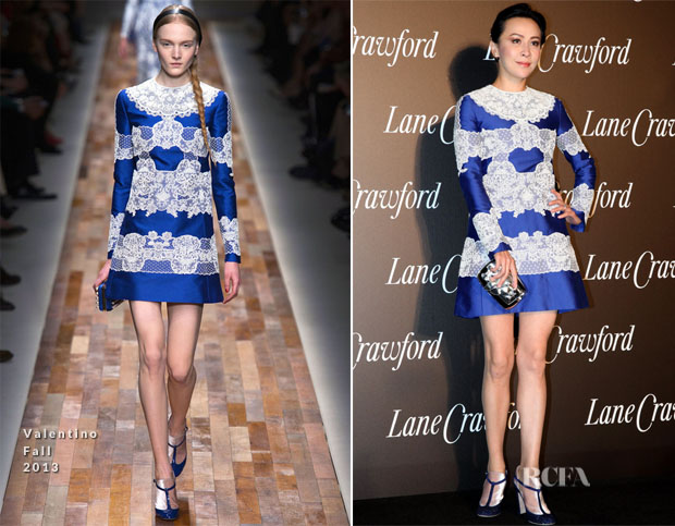 Carina Lau In Valentino - Lane Crawford Flagship-Store Opening Ceremony