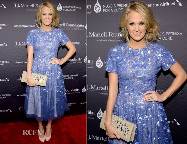 Carrie Underwood In  Randi Rahm - Martell Foundation's 2013 Honors Gala