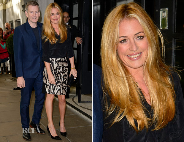 Cat Deeley In Diane von Furstenberg - Children In Need Gala Lunch