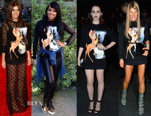 Celebrities Love Givenchy Bambi Sweaters