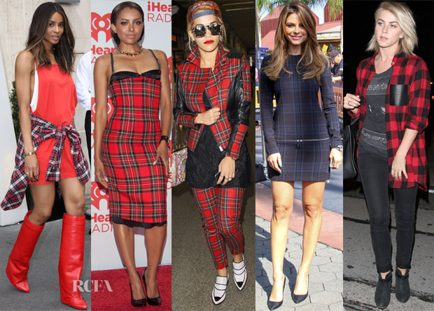 Celebrities Love Plaid