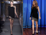Celine Dion In Anthony Vaccarello - Late Night with Jimmy Fallon