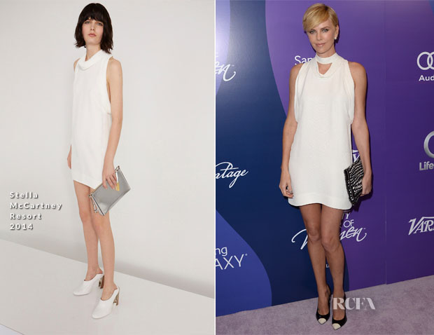 Charlize Theron In Stella McCartney - Variety's 5th Annual Power of Women Event