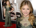 Chloe Moretz In Valentino - 'Carrie' LA Premiere