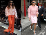 Ciara In Doriane Van Overeem & Topshop - Out In Paris