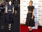 Clemence Poesy In Erdem - MIPCOM Party