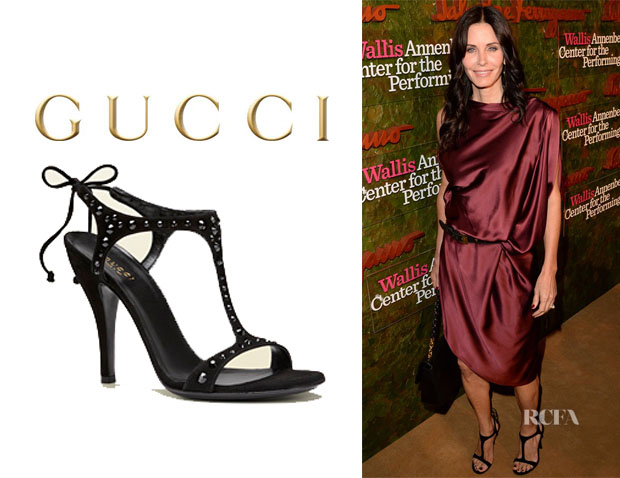 Courteney Cox's Gucci 'Yulia' Sandals