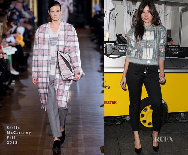 Daisy Lowe In Stella McCartney - Vogue's Fashion Night Out