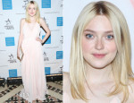 Dakota Fanning In Vionnet - 2013 Americans For The Arts