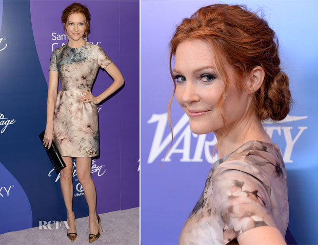 Darby Stanchfield In Valetino - Variety's 5th Annual Power of Women Event