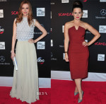 Darby Stanchfield & Katie Lowes 'Scandal' Season 3 Premiere