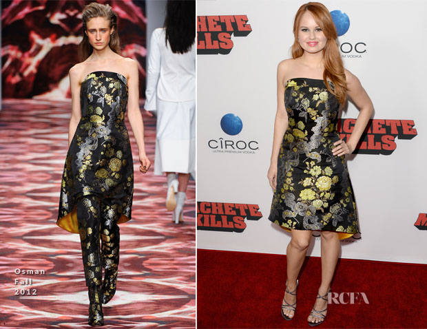 Debby Ryan In Osman - 'Machete Kills' LA Premiere