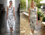Diane Kruger In Cushnie Et Ochs - CFDA/Vogue Fashion Fund Event
