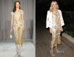 Diane Kruger In Marchesa - Vogue CFDA Fashion Fund Dinner