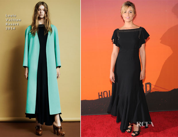 Dianna Agron In Louis Vuitton - 2013 Whitney Gala
