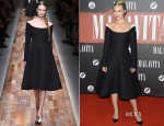 Dianna Agron In Valentino - 'The Family' Roissy-en-France Premiere