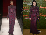 Dita von Teese In Carolina Herrera - Wallis Annenberg Center for the Performing Arts Inaugural Gala