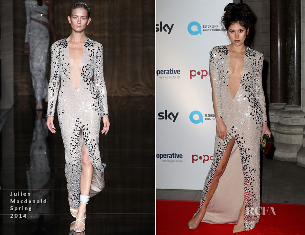 Eliza Doolittle In Julien Macdonald - Attitude Magazine Awards