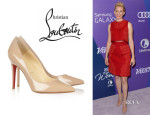 Elizabeth Banks' Christian Louboutin 'Pigalle' Leather Pumps
