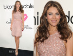 Elizabeth Hurley In Versace Collection -  Bloomingdales Kicks Off Breast Cancer Awareness Month