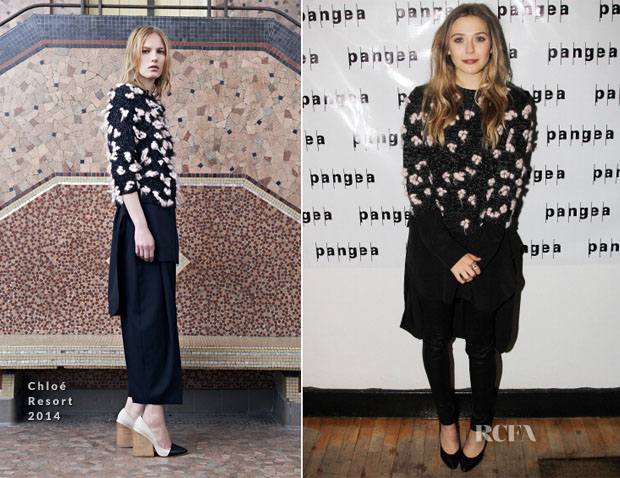Elizabeth Olsen In Chloé - 'Romeo And Juliet' Off Broadway Opening Night