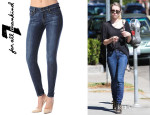 Emma Roberts' 7 For All Mankind Skinny Jeans