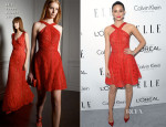Emmy Rossum In Elie Saab - ELLE's 20th Annual Women In Hollywood Celebration