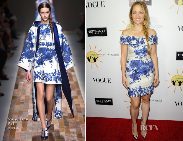 Erika Christensen In Valentino - Dream For Future Africa Foundation Inaugural Gala