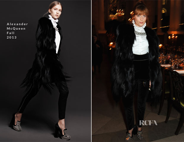 Florence Welch In Alexander McQueen - Alexander McQueen And Frieze Dinner Celebrating Frieze Art Fair 2013