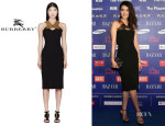 Gao Yuanyuan's Burberry Prorsum Dress