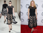 Gillian Anderson In Temperley London - Paley Center For Media Presents: 'The Truth Is Here: David Duchovny And Gillian Anderson On The X-Files'