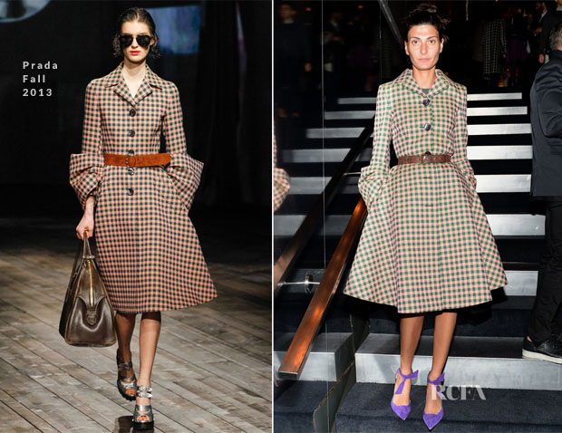 Giovanna Battaglia In Prada - PRADA Journal - A Literary Contest In Collaboration With Feltrinelli Editore