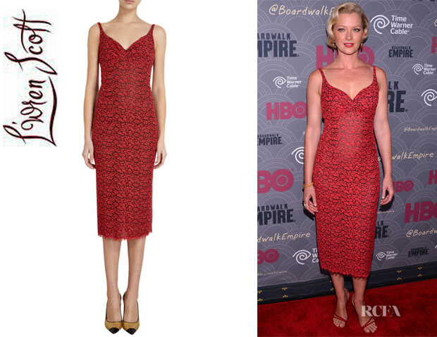 Gretchen Mol's L'Wren Scott Lace Cami Dress