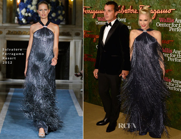 Gwen Stefani In Salvatore Ferragamo - Wallis Annenberg Center for the Performing Arts Inaugural Gala