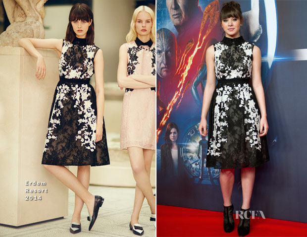 Hailee Steinfeld In Erdem - 'Ender's Game' Berlin Photocall
