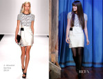Hailee Steinfeld In J. Mendel - Late Night with Jimmy Fallon