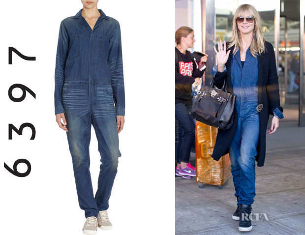 Heidi Klum's 6397 Denim Jumpsuit