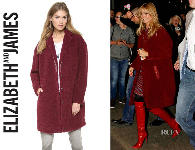 Heidi Klum's Elizabeth and James 'Narine' Coat