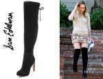 Hilary Duff's Sam Edelman 'Kayla' Over The Knee Boots