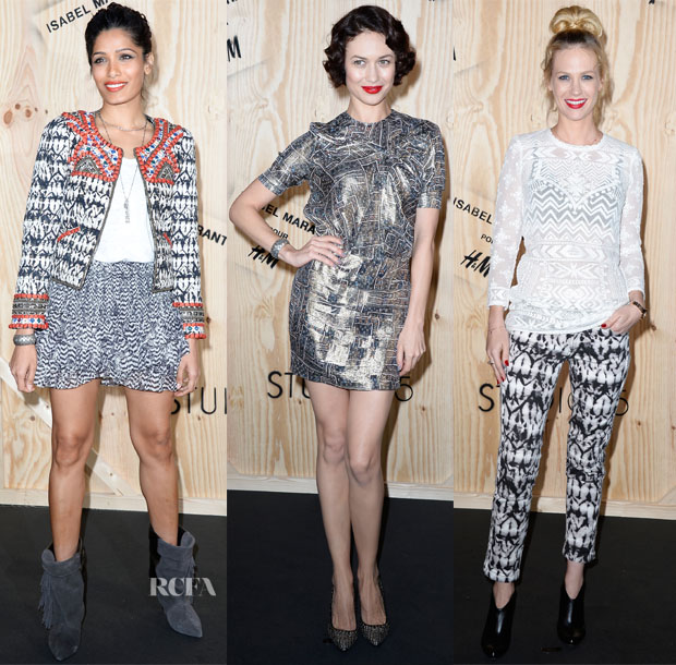 Isabel Marant pour H&M Launch Party