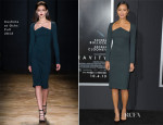 Jamie Chung In Cushnie et Ochs - 'Gravity' New York Premiere