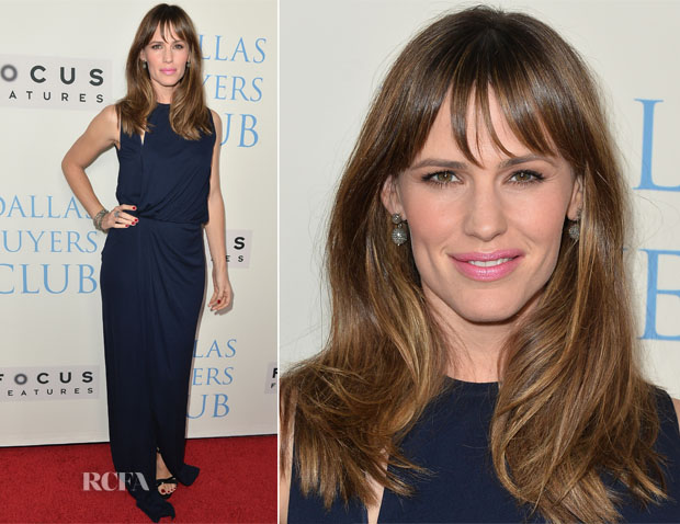 Jennifer Garner In Vionnet - 'Dallas Buyers Club'LA Premiere