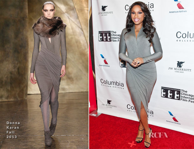 Jennifer Hudson In Donna Karan - 'The Inevitable Defeat Of Mister And Pete' Chicago Film Festival Premiere