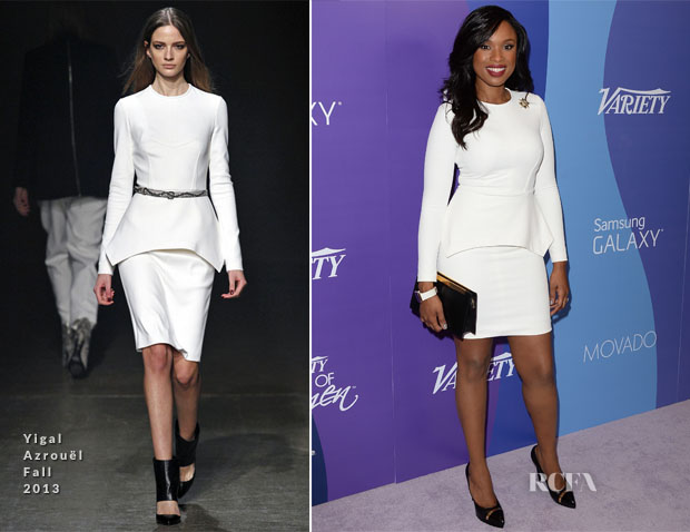 Jennifer HudsonYigal Azrouel - Variety's 5th Annual Power of Women Event