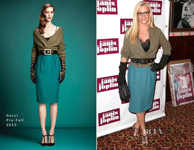 Jenny McCarthy In Gucci - 'A Night With Janis Joplin' Broadway Opening Night