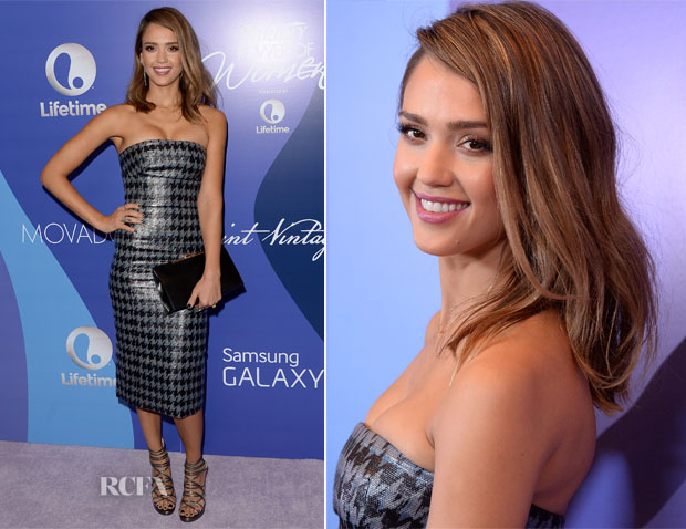 Jessica Alba In Christian Dior - Variety's 5th Annual Power of Women Event