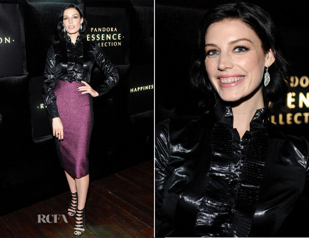 Jessica Pare In L'Wren Scott - Pandora Essence Collection