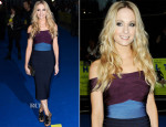 Joanne Froggatt In Hervé Léger for Max Azria - 'Filth' London Premiere